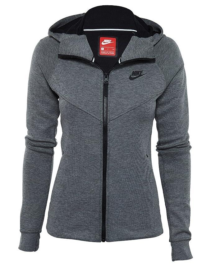 Nike Womens Tech Fleece Full Zip Hoodie at Amazon Women s Clothing store  a0db5ca930