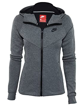 Nike W NSW TCH FLC Hoodie FZ Sudadera, Mujer: Amazon.es: Deportes y aire libre