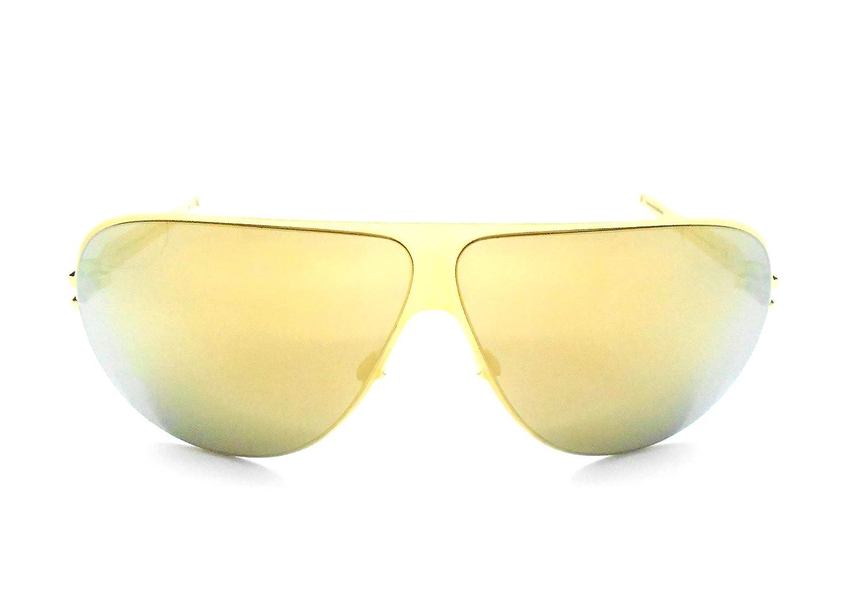 Amazon.com: Mykita HUBERT - Gafas de sol con espejo dorado ...