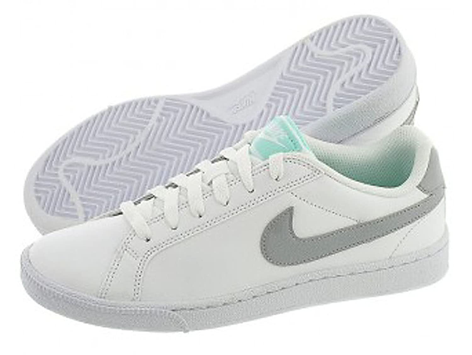 454256-117 Nike Women's Court Majestic White/Wolf-Grey/Teal