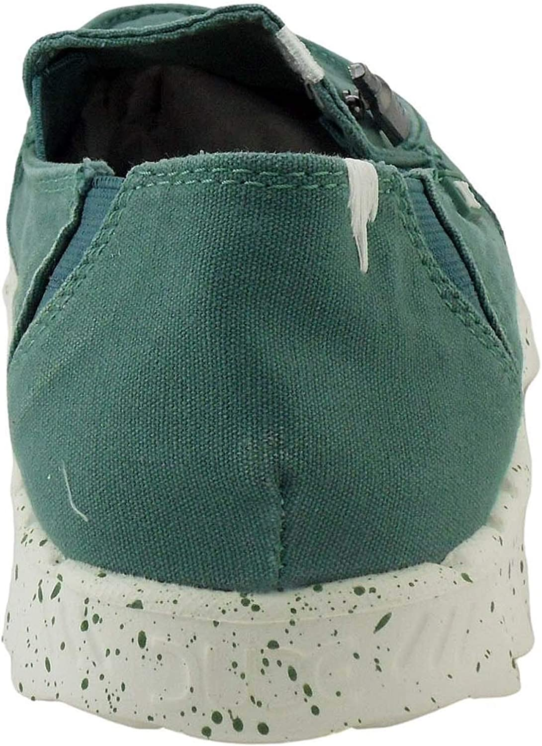 Dude Mocassins Farty Washed-3 Coloris- Teal