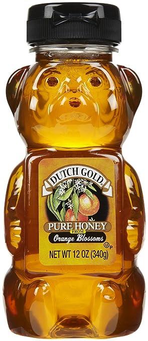 Amazon com : Dutch Gold Honey Orange Blossom Honey, 12 oz