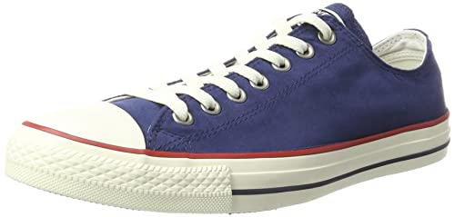 169cf3bed23b Converse Unisex Adults  CTAS Ox Midnight Navy Garnet Egret Trainers ...