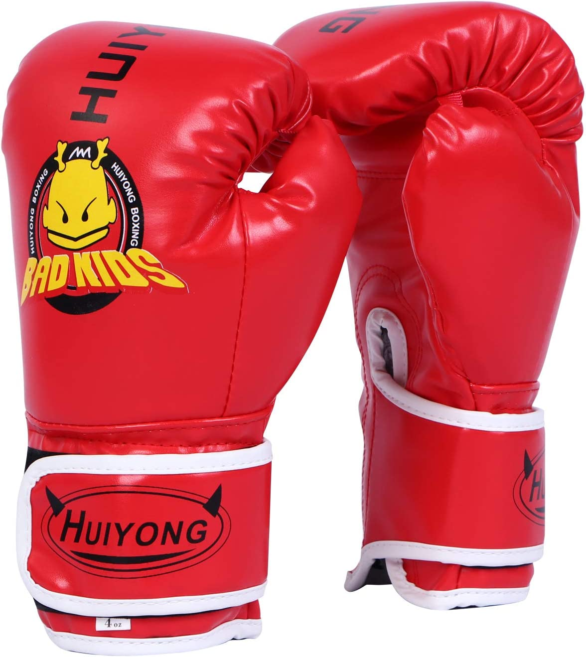 Boxing Gloves for Kids 6oz-10oz PU Fight Gloves Heavy Bag Mitts Kickboxing Gloves Youth Training Gloves for Muay Thai