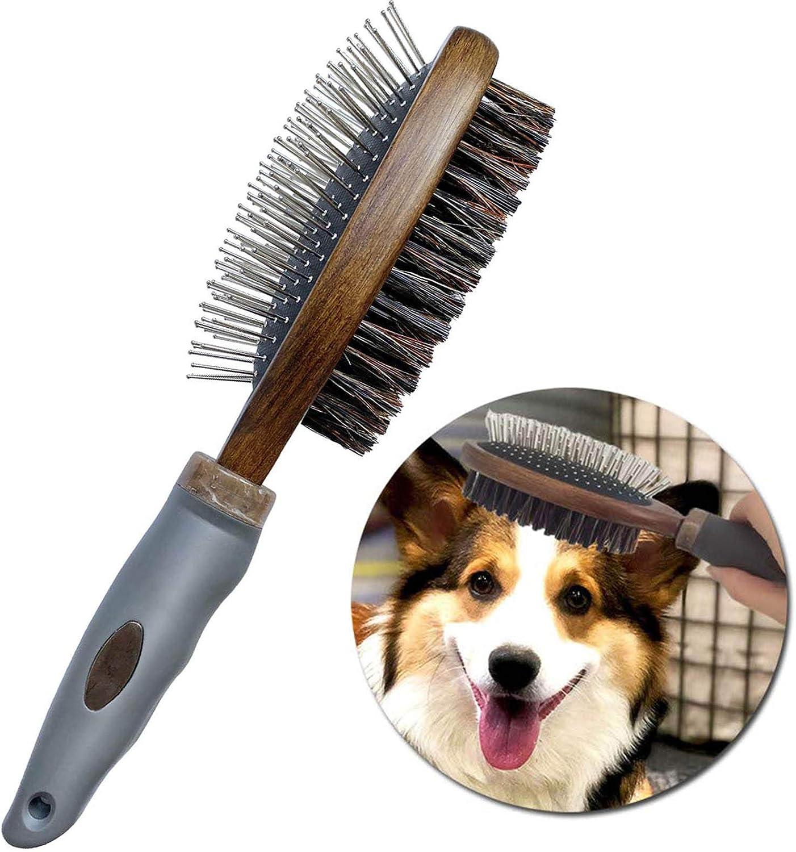 cepillo de puas de metal para peinar corgi