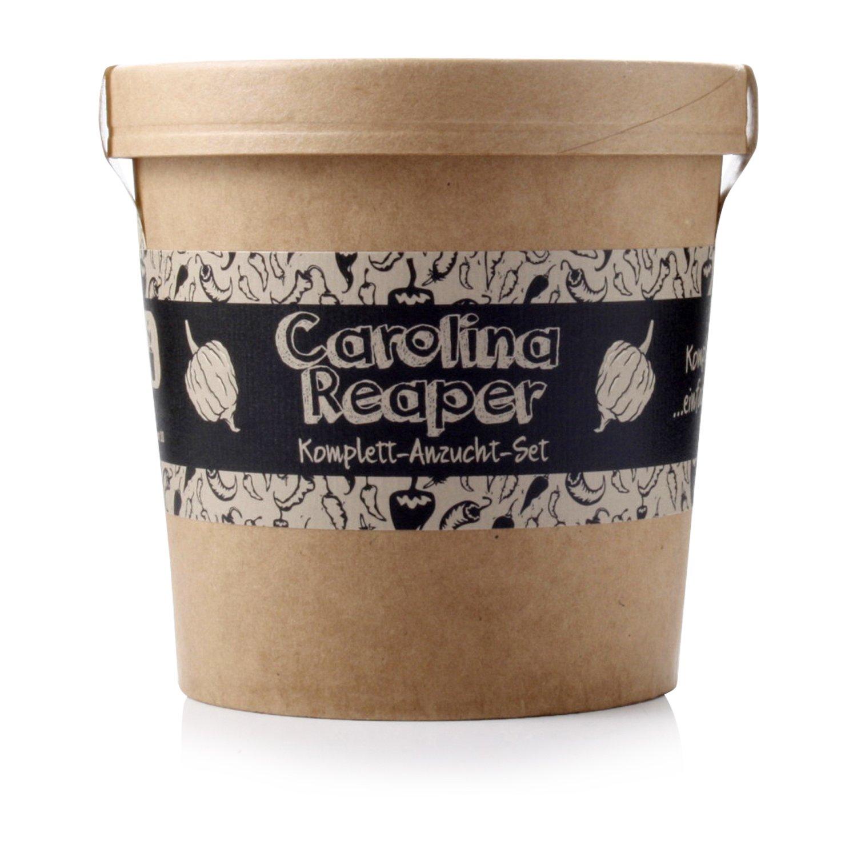 Spicy Garden Anzucht-Set für Carolina Reaper Chili - Pflanzen-Kit - Einstieg in die Planzen-Zucht - ideal zum Verschenken PepperPark GmbH