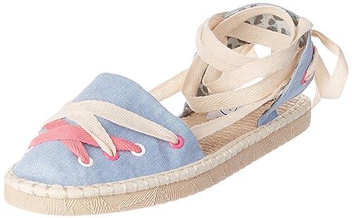 COOLWAY Guajira, Alpargatas para Mujer, Azul (Blue), 40 EU: Amazon.es: Zapatos y complementos