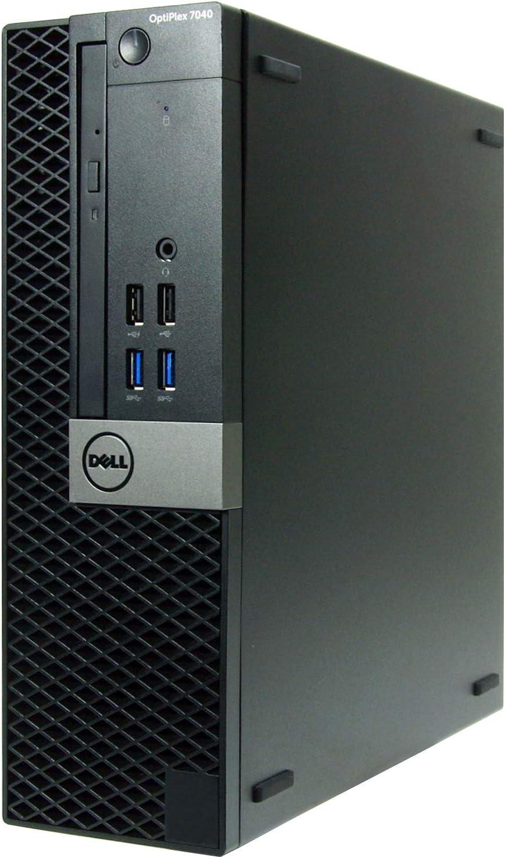 Dell OptiPlex 7040-SFF, Core i5-6500 3.2GHz, 16GB RAM, 480GB Solid State Drive, DVD, Windows 10 Pro 64bit, (Renewed)