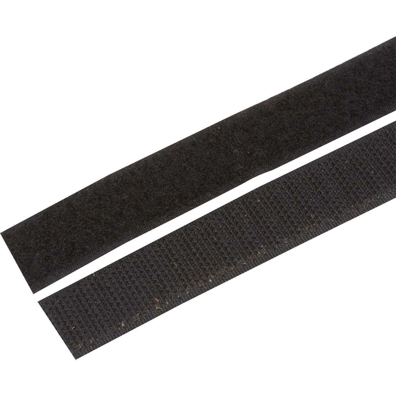 Scratch adh/ésif 20 mm Blanc Ruban Auto-agrippant /à Coudre ou Autocollant ILC MERCERIE PARADIS Scratch /À Coudre ou ADH/ÉSIF au m/ètre 20 mm//25 mm//38 mm