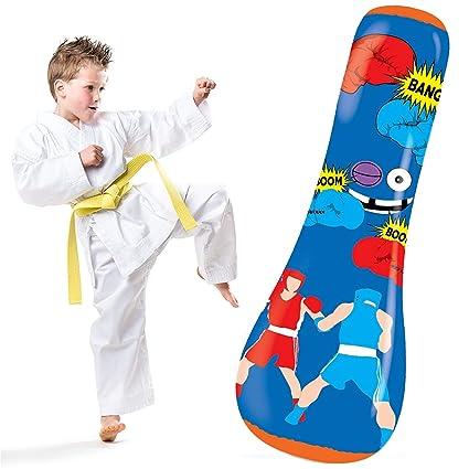 Amazon.com: Bolso hinchable con capucha para niños: juguete ...