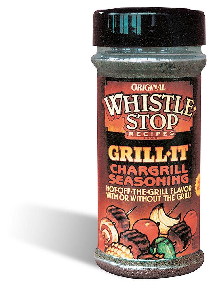 Original WhistleStop Cafe Recipes   Grill-It Chargrill Seasoning   5.6-oz   1 Shaker