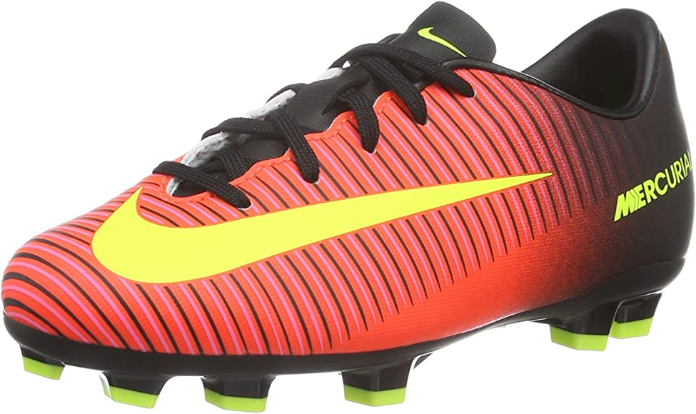 red nike soccer cleats