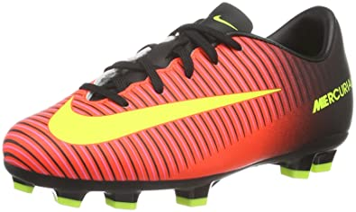5ec70884ee2 Nike Mercurial Vapor XI FG Football Boots Soccer Shoes red Black Yellow