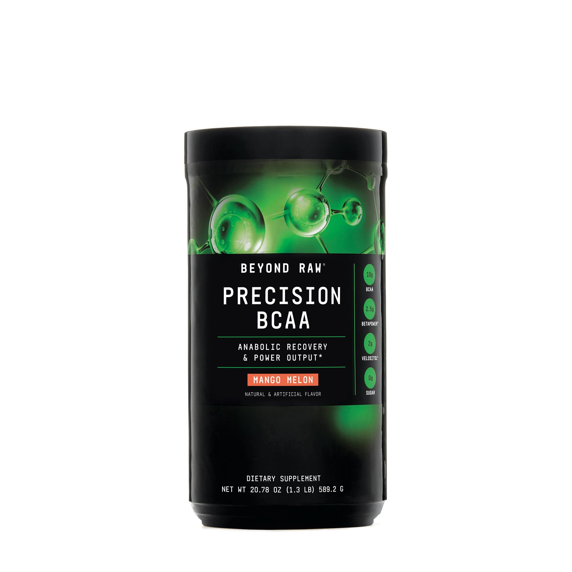Beyond Raw Precision BCAA, Mango Melon, 30 Servings, Provides Energy and Supports Muscle Repair