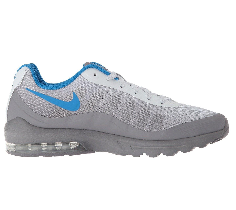 Nike Men's Air Max Invigor Print Running Shoe Pure PlatinumBlue Nebula Gunsmoke 7.5