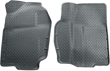 Amazon Com Husky Liners Fits 1994 01 Dodge Ram 1500 1994 02 Dodge Ram 2500 3500 Classic Style Front Floor Mats Grey 30712 Automotive