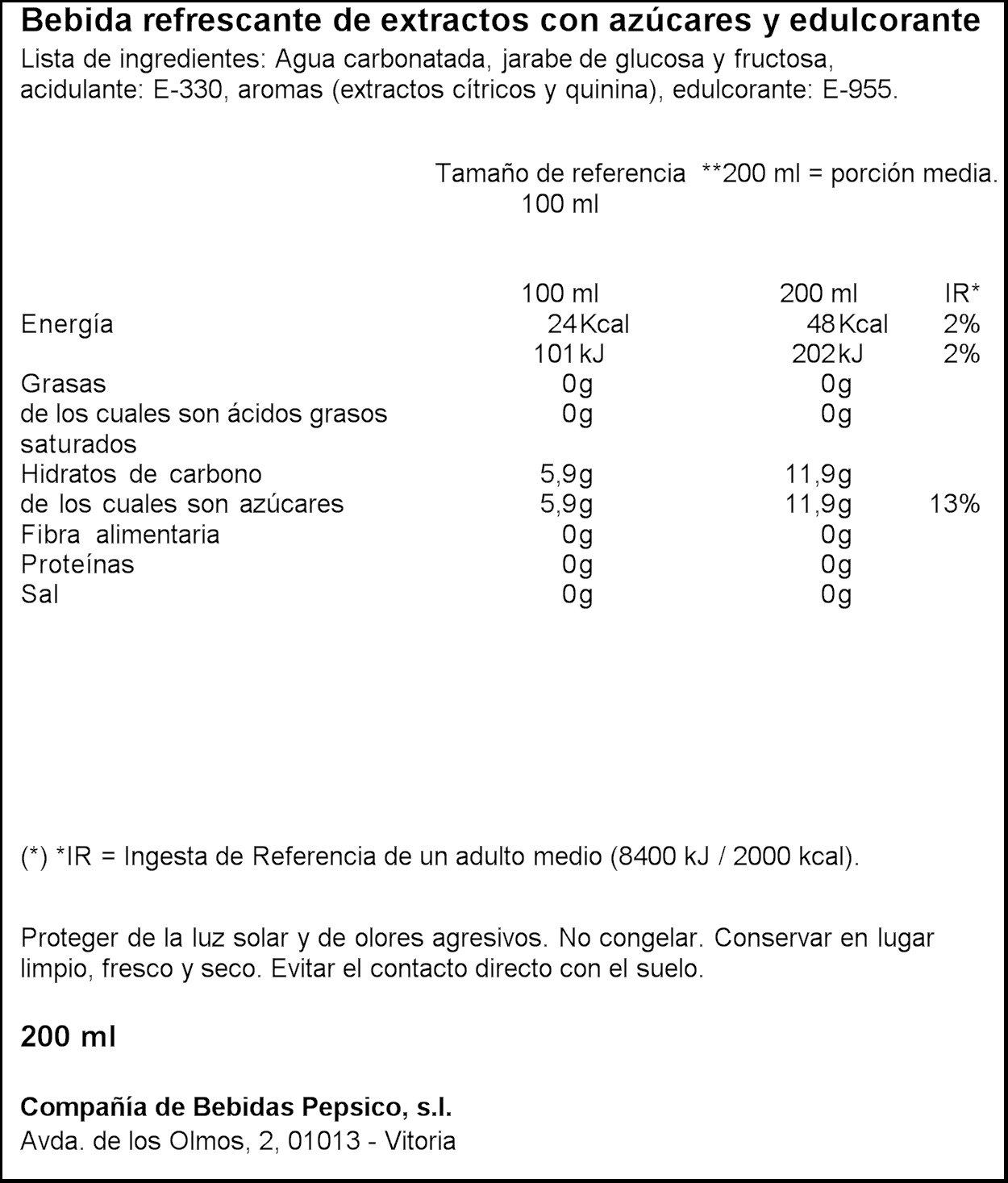 Kas - Blue Tonic - Bebida refrescante de extractos con azúcares y edulcorante - 6 x 200 ml: Amazon.es: Alimentación y bebidas