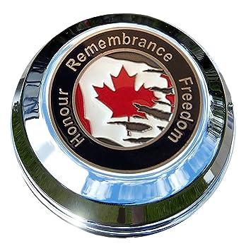 motordog69 indio Gas Cap moneda pantalla plana Set con canadiense libertad Riders para Chieftain, Chief