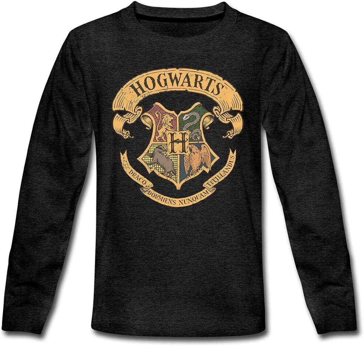 Spreadshirt Harry Potter Hogwarts Coat of Arms Teenagers Longsleeve Shirt