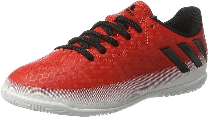 adidas Messi 16.4 In, Zapatillas de Fútbol para Niños, Rojo (Red/cblack/ftwwht), 28 EU: Amazon.es: Zapatos y complementos