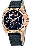 Just Cavalli Damen-Armbanduhr Analog Quarz Leder R7251213001