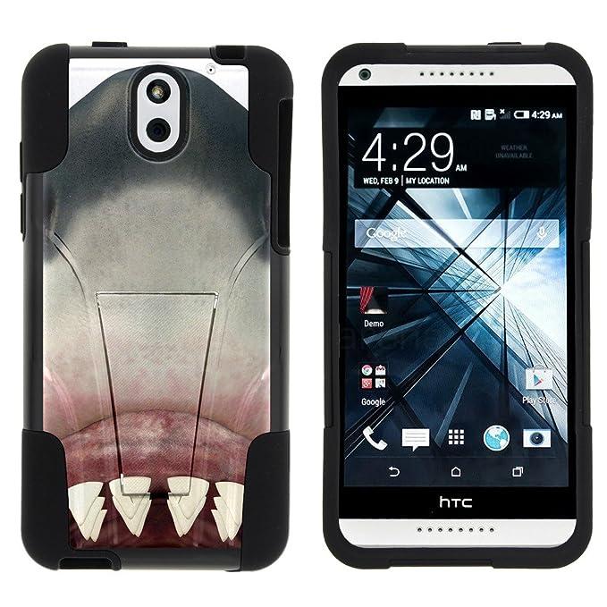 TurtleArmor - Carcasa rígida de Silicona para HTC Desire 610 ...
