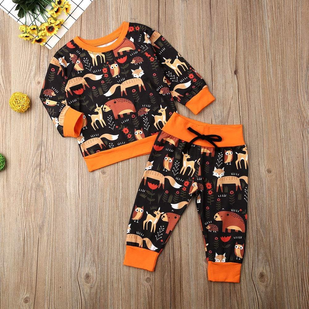 Kleinkind Kinder Cartoon Kleidung Baby Jungen Herbst Winter Hirsch Langarm Pullover Sweatshirt Tops Legging Hose Trainingsanzug Bekleidung Set