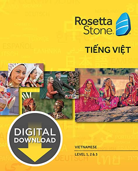 Rosetta Stone Vietnamese Level 1-3 Set [Download]