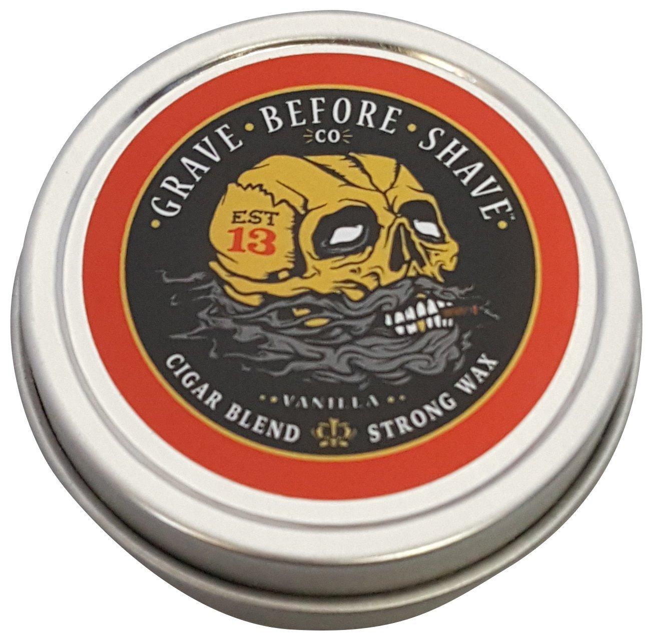 Fisticuffs Cigar Blend Mustache Wax 1 oz Tin Cigarblend