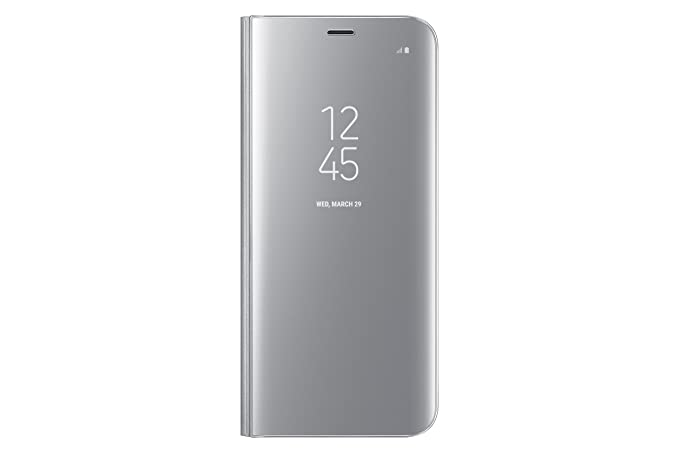 wholesale dealer 7a04b 3b9e1 Samsung Galaxy S8 S-View Flip Cover with Kickstand, Silver