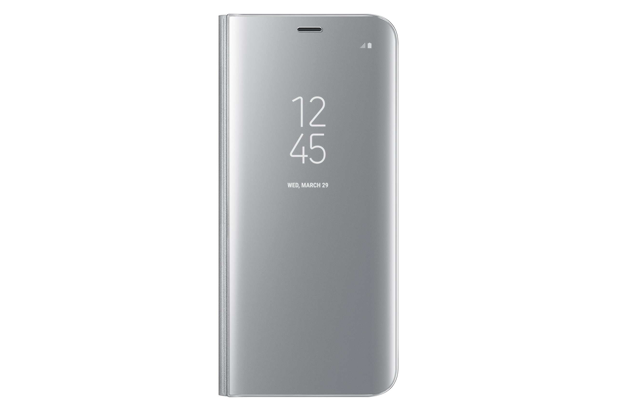 Samsung Galaxy S8 S-View Flip Cover with Kickstand, Silver