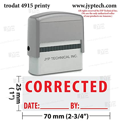 amazon com extra large trodat 4915 self inking rubber stamp w