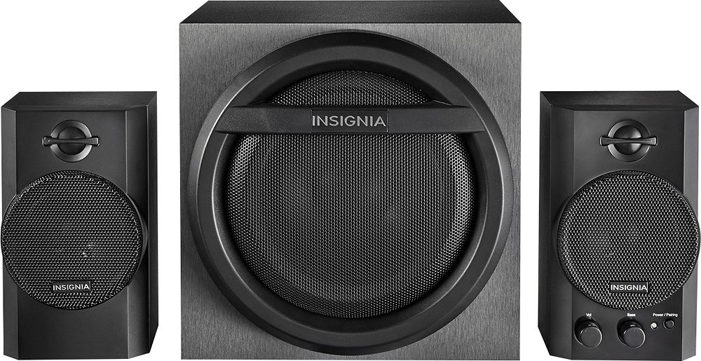 Insignia 2.1 Bluetooth Speaker with Subwoofer (NS-PSB4521) by Insignia   B00JEIWKFC