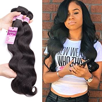 Amazon Com 7a Peruvian Body Wave Human Hair Peruvian Hair Weave 3