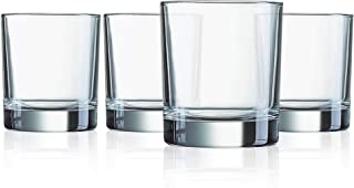 product image for Luminarc N7517 Islande 10 Ounce On The Rocks Glass, Set Of 4, Short, Clear