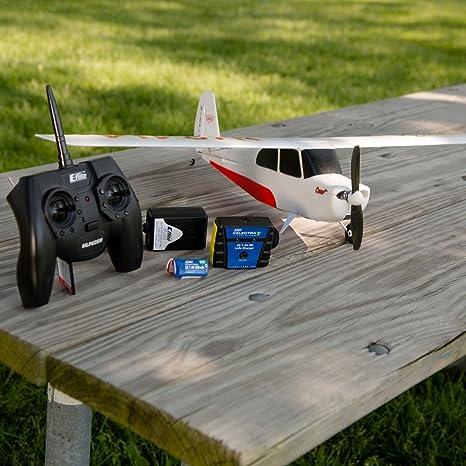 Amazon com: HobbyZone Champ S+ RTF RC Airplane with Safe Technology