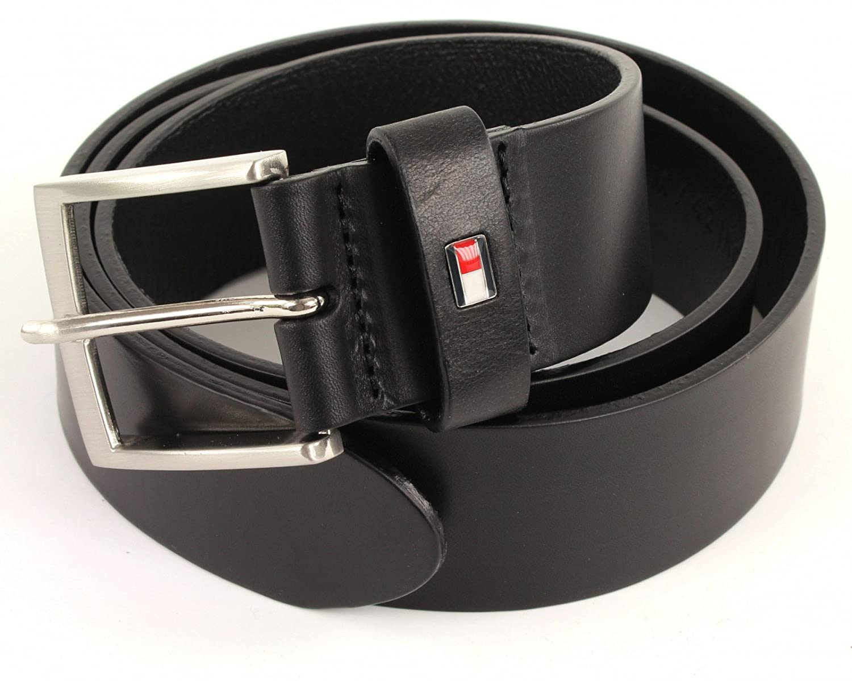 TOMMY HILFIGER Ledergürtel in Geschenkbox New Denton Belt Leder Gürtel