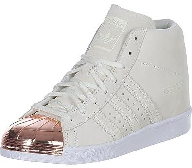adidas Superstar Up Metal Toe Schuh White 43 13