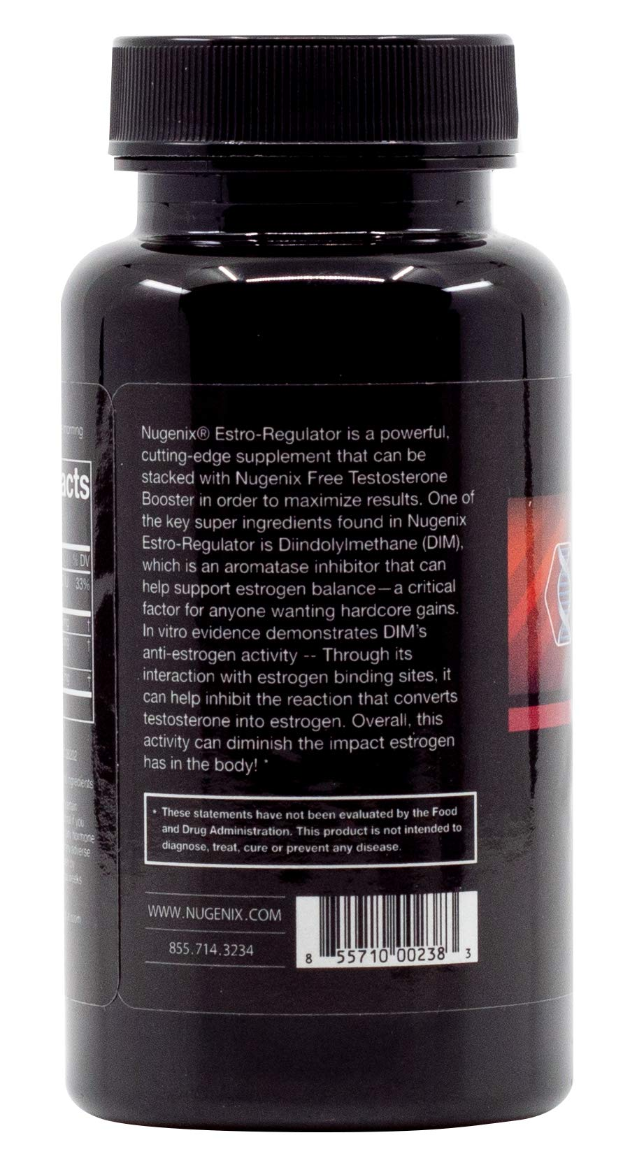 Nugenix Estro-Regulator - Power Estrogen Blocker, Boost Testosterone, Aromatase Inhibitor, DIM, Chrysin - 60 Capsules by Nugenix (Image #4)