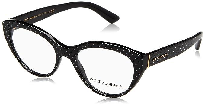 Amazon.com: anteojos Dolce & Gabbana DG 3246 3126 Pois ...