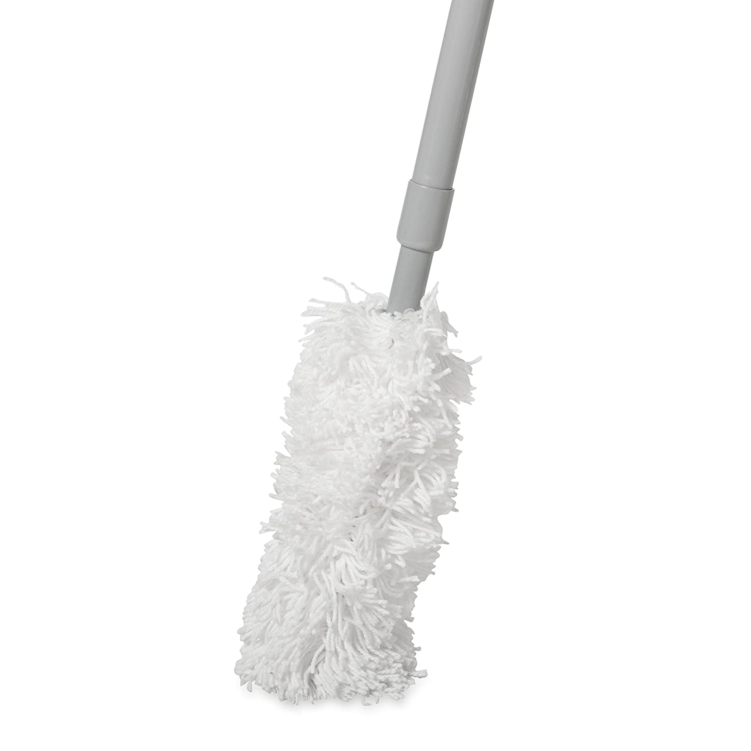 White Rubbermaid Commercial Products Rubbermaid FGT49900WH00 Cotton Off-Floor Dust Mitt for FGT41000 Dusting Tool