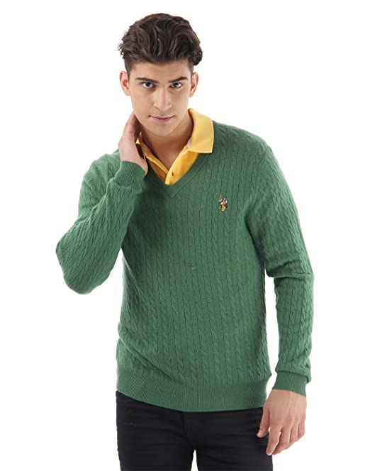 US Polo Association Men Casual Sweaters