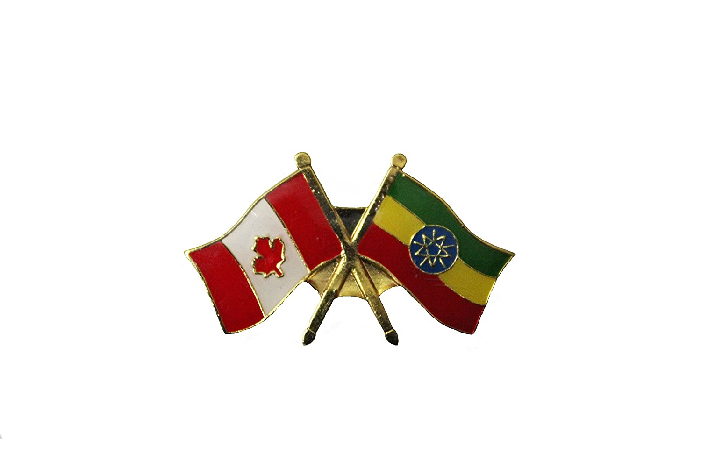 ETHIOPIA Country Metal Flag Lapel Pin Badge