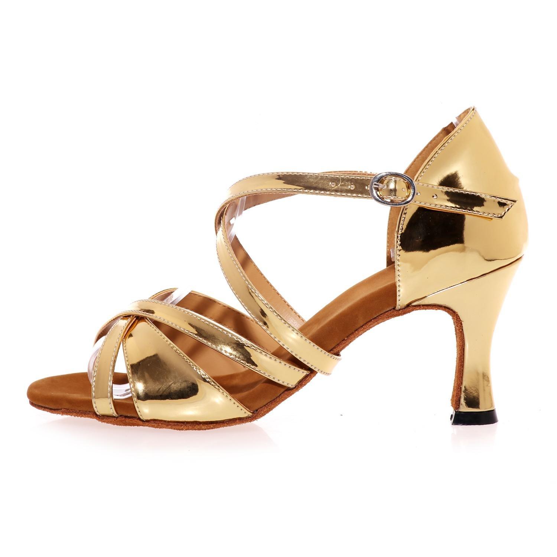 L@YC L@YC L@YC Weibliche Tanzschuhe Latin Cool High Heel Indoor anpassbare Leistung 06c1a5