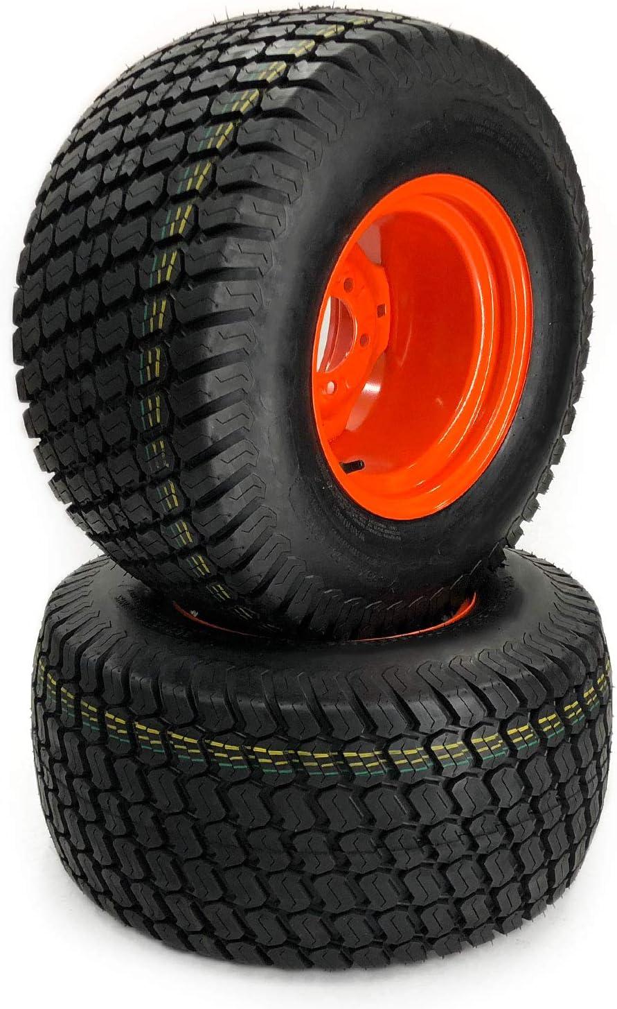 2 MowerPartsGroup Turf Wheel//Tire Assemblies 26x12.00-12 Fits Kubota BX2350D BX2370 BX2380