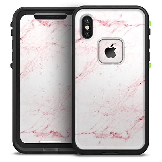 Amazon.com  Pink Red Marble Surface Design Skinz iPhone LifeProof ... 7f877dac0