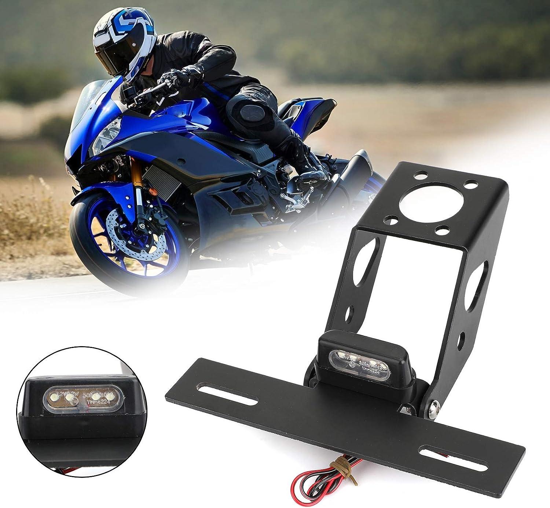 Areyourshop Soporte para matr/ícula trasera de motocicleta para Yamaha YZF R6 2008-2019
