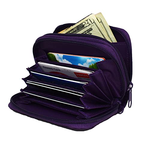 Women's RFID Blocking Wallet Leather, HDE [Identity Protection] Credit Card Holder