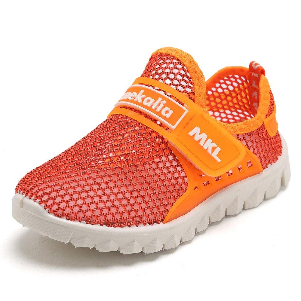 CIOR Boys Girls Breathable Lightweight Sneakers Antislip Shoes For Running Walking Toddler/Little Kid/Big Kid SC276 Pink 36 nRPDd