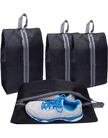 c17d412076e76 Alezywels Ultimate Shoe Storage Organizer Bags Set, 2 x Standard & 2 x XL  Portable